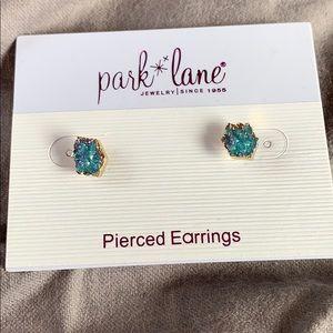 Earrings blue stones
